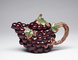 Porcelain Decorative Grape Teapot