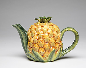 Porcelain Decorative Pineapple Teapot