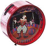 Musical Money Box with Dancing Clowns #22168