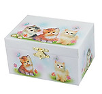 Ballerina Jewelry Box with Cats