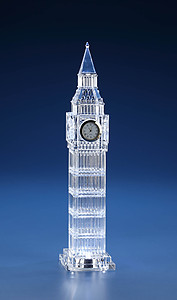 Acrylic Big Ben Clock - LED Lights