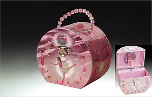 Ballerina Musical Jewelry Box Purse