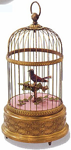 A Singing Bird In A Cage
