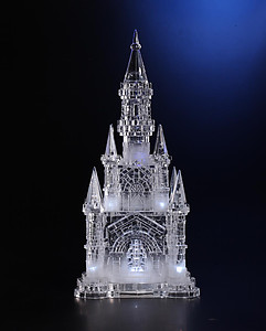Acrylic Illuminated Ice Castle