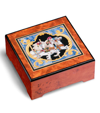 Carousel Horse Musical Jewelry Box #32410