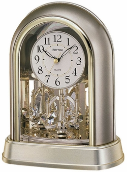 Crystal Mantel Rhythm Clock