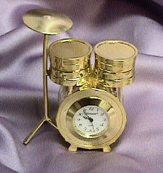 Miniature Drum Clock