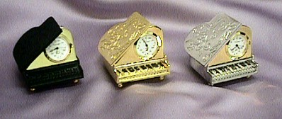 Baby Grand Piano Clocks #517