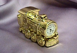 Miniature Train Clock #530