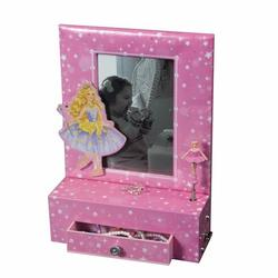 Musical Ballerina Photo Frame Jewelry Box #803