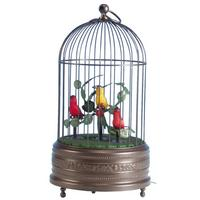 Singing Birdcage 3 Birds