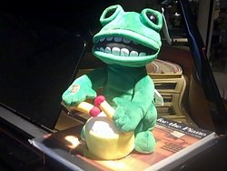 Animated Musical Drumming Frog #Bop