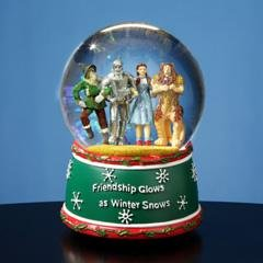 Wizard of Oz Holiday Friendship Musical Water Globe #52111