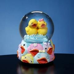 Jingle Jumbles™ Rubber Ducky Musical Water Globe  #SF51770