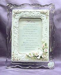 Wedding with Doves Musical Picture Frame #7011