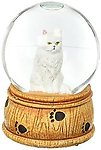 White Cat Musical Waterglobe #32001