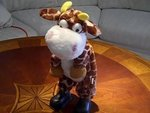 Animated Musical Dancing Giraffe #SGiraffe