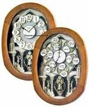Joyful Encore Rhythm Wall Clocks Music & Motion Clocks #847WD06